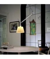 Artémide suspension Tolomeo parchemin